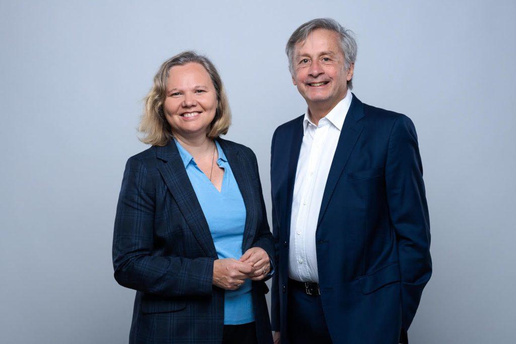 Alice Coatalem et Eric Pradier, fondateurs de la plateforme de consultants en transformation digitale, Digispin.